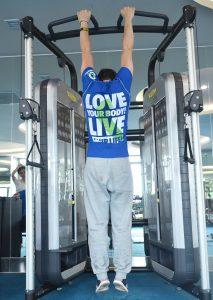 Teekiu Sport & FItness_Passive hang